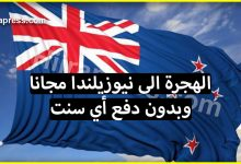 Photo of إذا كنت من محبي الهجرة فإليك فرصة  لـ الهجرة الى نيوزيلندا مجانا وبدون دفع أي سنت