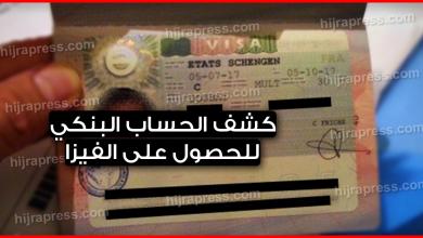 Photo of حل مشكلة كشف الحساب البنكي من أجل الحصول على فيزا شنغن 2019