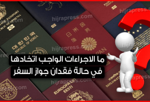 Photo of ما الاجراءات الواجب اتخادها في حالة فقدان جواز السفر.