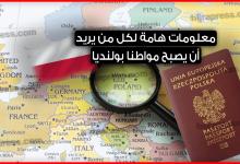 Photo of الجنسية البولندية .. معلومات هامة لكل من يريد أن يصبح مواطنا بولنديا