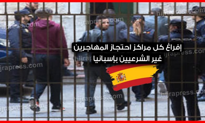 المهاجرين بإسبانيا