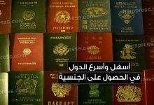 صورة أسهل وأسرع الدول في الحصول على الجنسية وجواز سفر ثان وبأربع طرق مختلفة