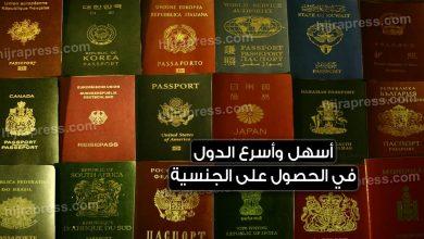 Photo of أسهل وأسرع الدول في الحصول على الجنسية وجواز سفر ثان وبأربع طرق مختلفة